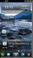 Clock and Calenday Widgets